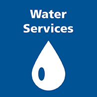 Water services button image